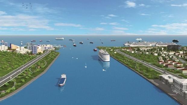 Kanal İstanbul'a torba yasayla isim verildi: Su yolu