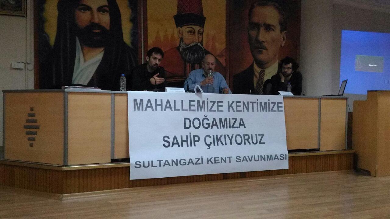 """Sultangazi Kent Savunması: """"Doğa, semtimiz, kentimiz için mücadeleye devam!"""""""