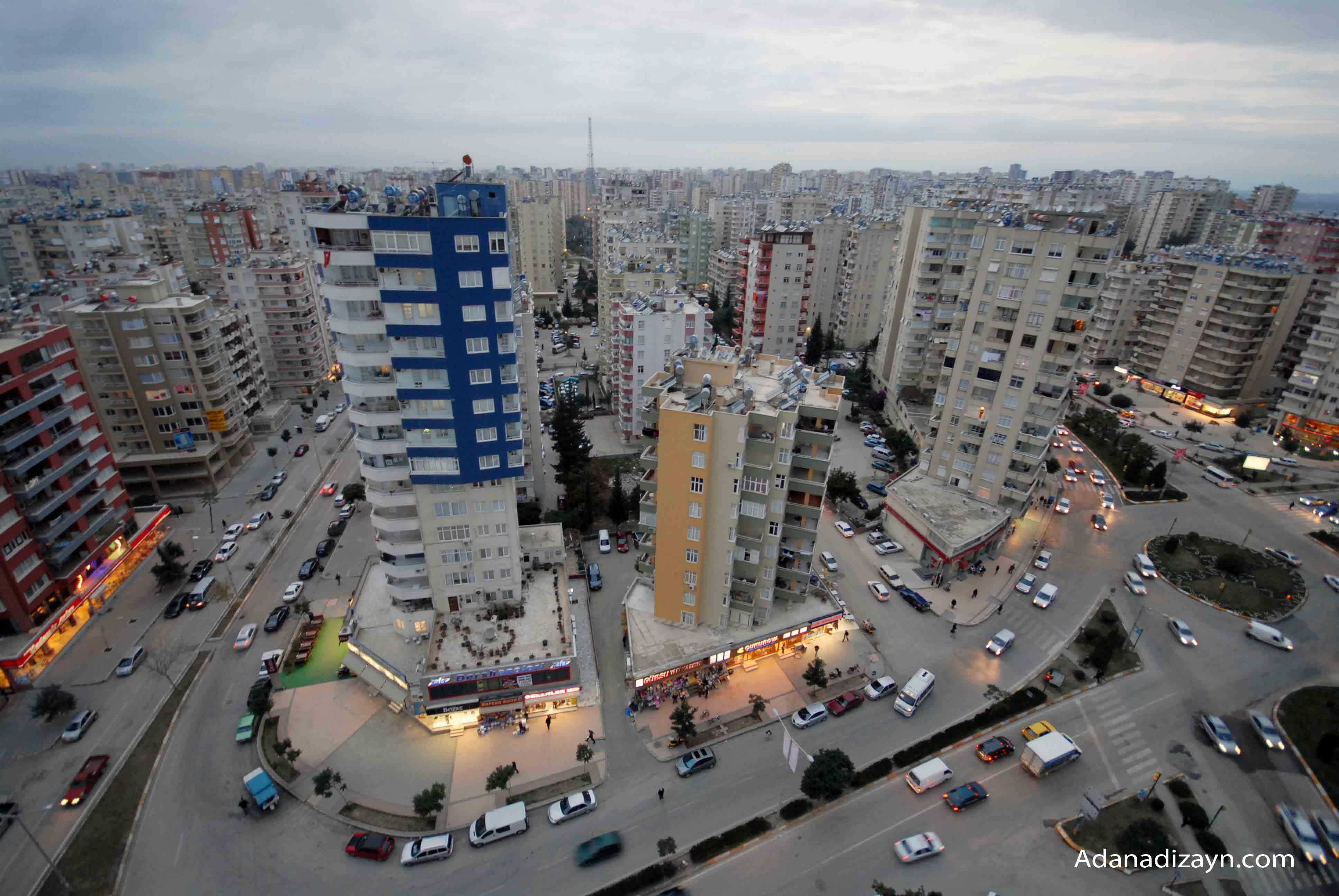 Adana'da kişi başına bir tabure kadar yeşil alan düşüyor