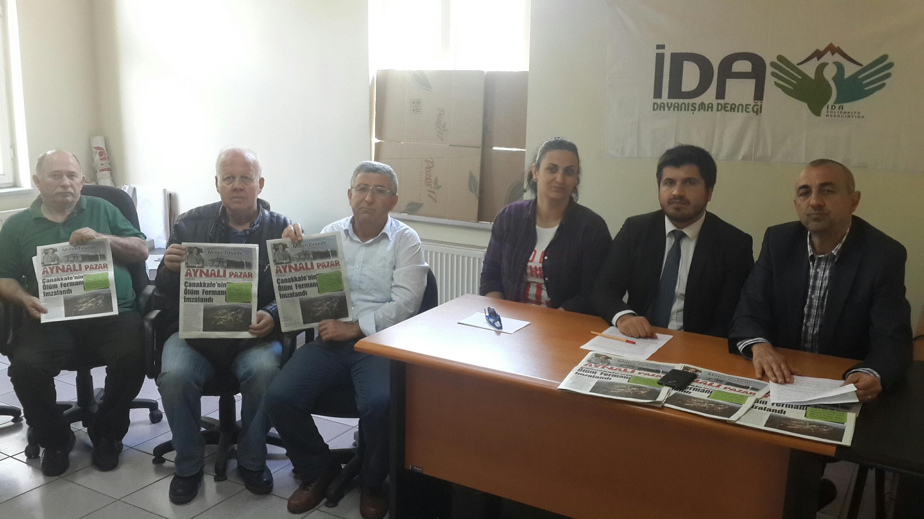 """""""Çanakkale'nin ölüm fermanı""""nı imzalayan Vali'ye tepki"""