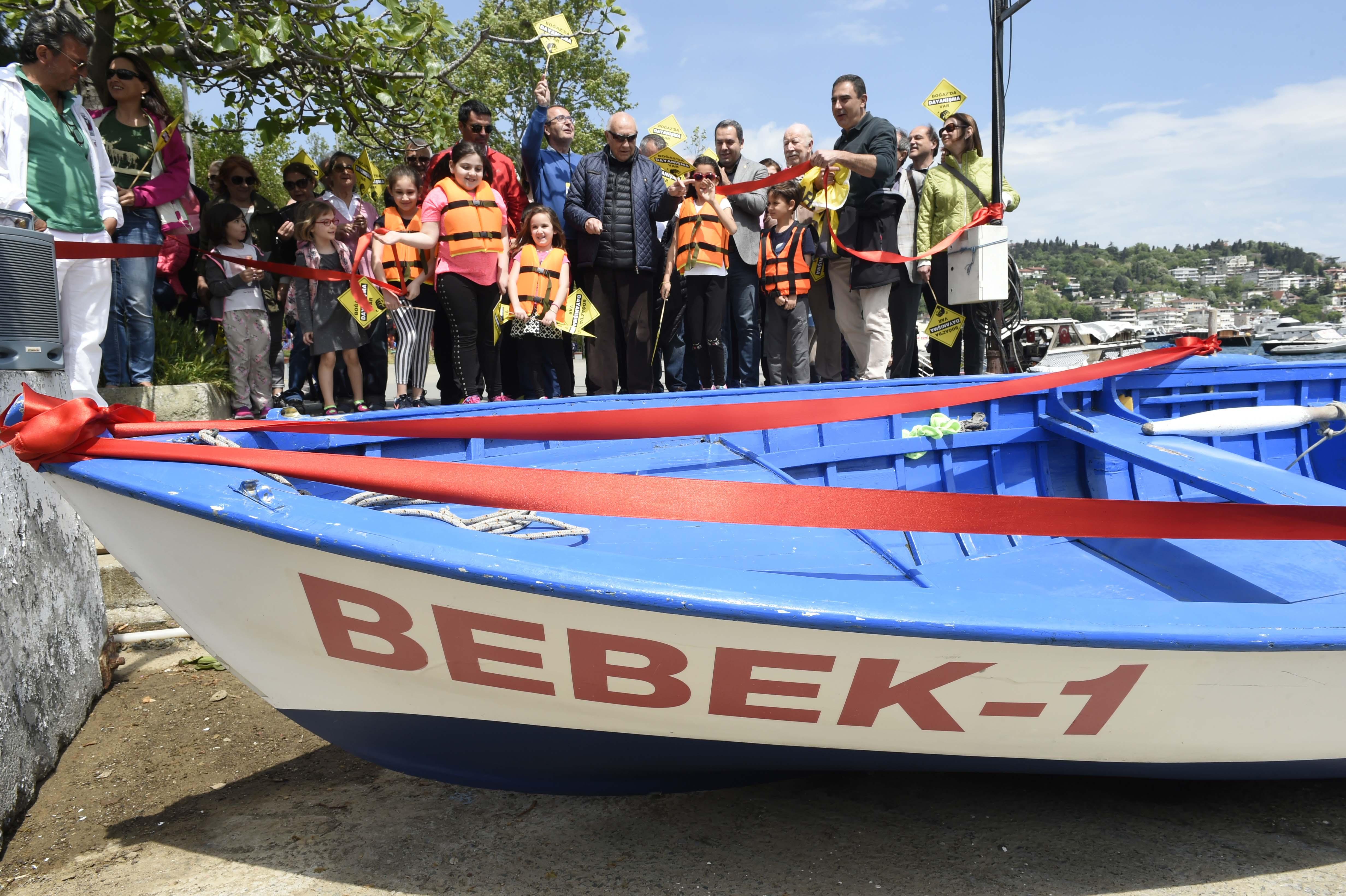 İBB'nin Bebek Sahili Tekne Park Projesi Protesto Edildi