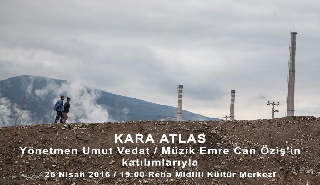 Kara Atlas belgeseli Aliağa, Foça ve Karşıyaka'da gösterimde