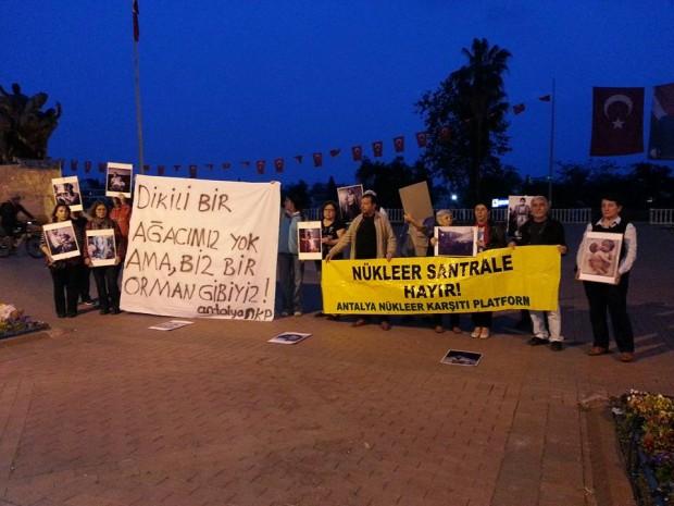 Antalya Nükleer Karşıtı Platform: Akkuyu Nükleer Santral projesi iptal edilsin