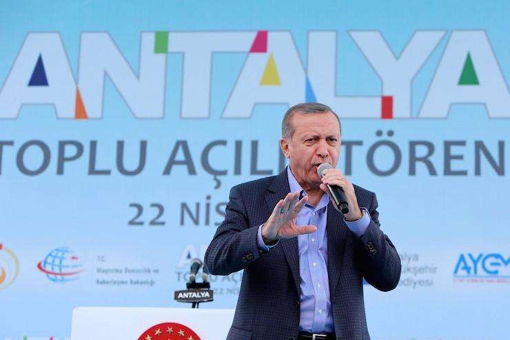 Erdoğan'ın 'inşaat aşkı' kabardı: Hamdolsun, Antalya'yı yine şantiye olarak gördüm