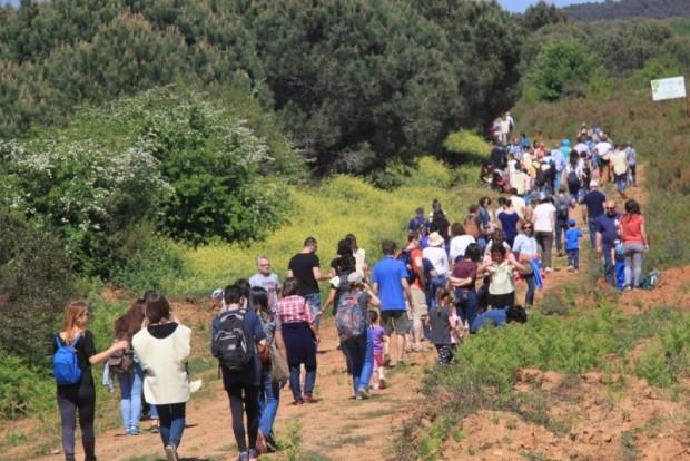 ÇEKÜL Vakfı ve doğa dostları 92 Ormanı'nda baharı karşıladı