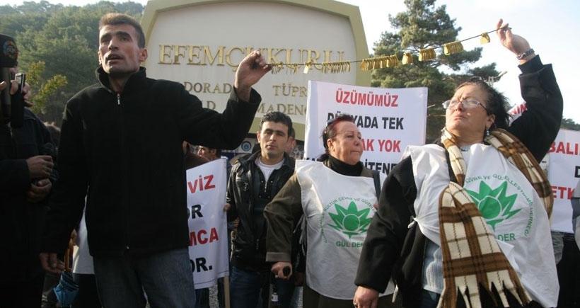 Efemçukuru davasında İzmirli akademisyenler Danıştay'dan veto yedi!