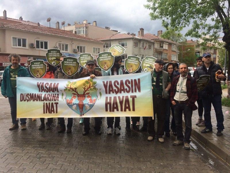Yaşam savunucuları haykırdı: 'Ergene'de Yalana, Trakya'da Talana Son!'