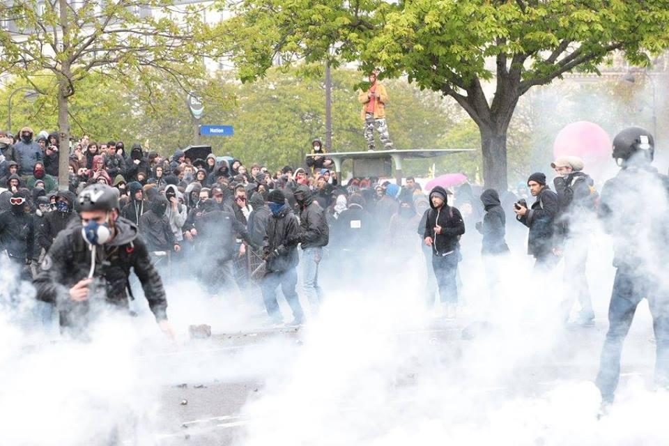 Protestocular Avrupa'da sokaklara döküldü