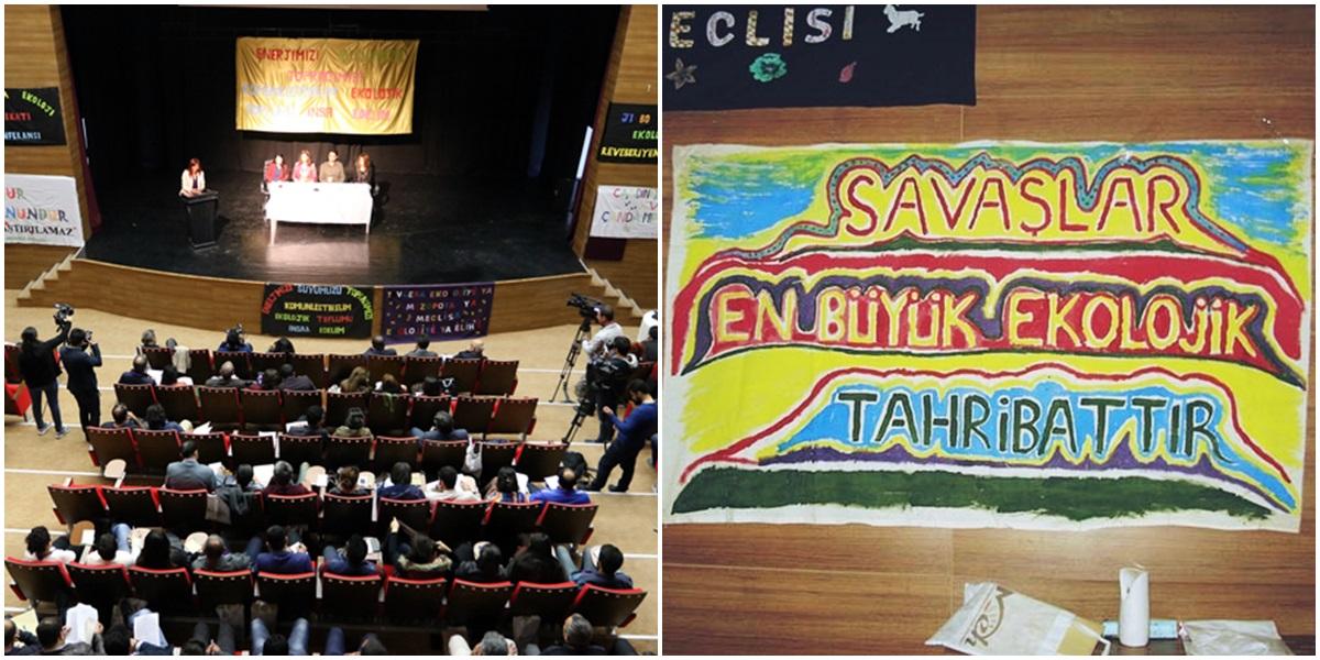 Mezopotamya Ekoloji Hareketi 1. Genel Konferansı geniş katılımla Van'da gerçekleşti