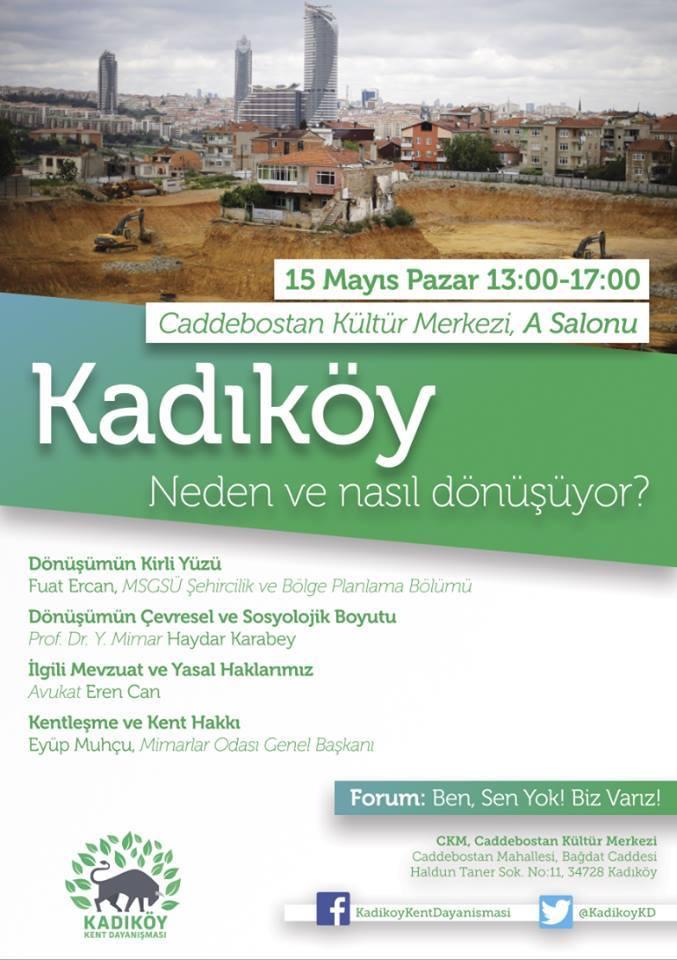 Panel: Kadıköy neden ve nasıl dönüşüyor?