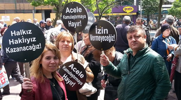 AKP'nin 13 yıllık rekoru: Acele kamulaştırma