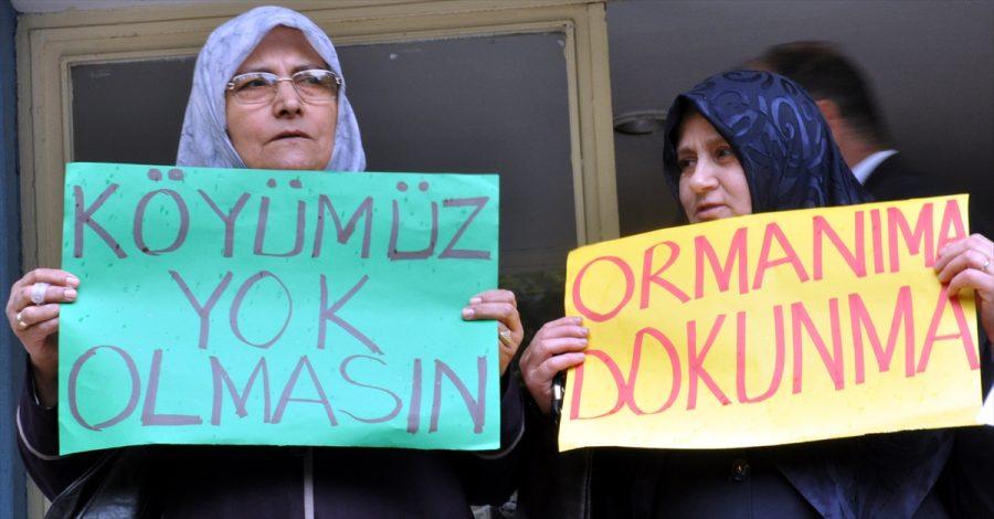 Bursa'da taş ocağı alan genişletme projesine itiraz