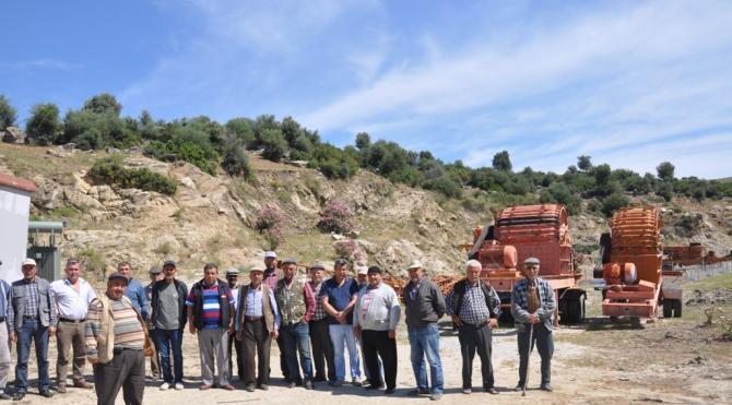 Aydın Burunköy Halkı taşocağına karşı direniyor