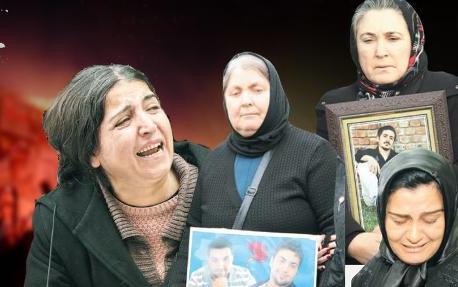 Anneler adalet peşinde