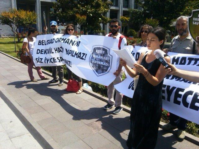 """Kuzey Ormanları'na """"dekovil"""" kılıklı rant projesi AKP ve CHP'lilerin oylarıyla kabul edildi"""