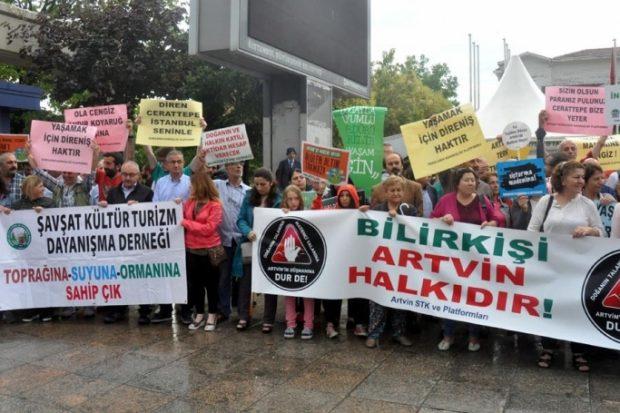 Bakırköy'de Cerattepe eylemi