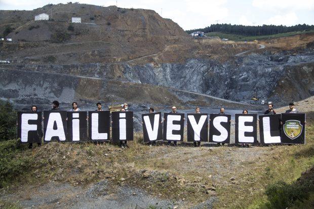 "Fatih Ormanı'nda ""Faili Veysel"" Protestosu"