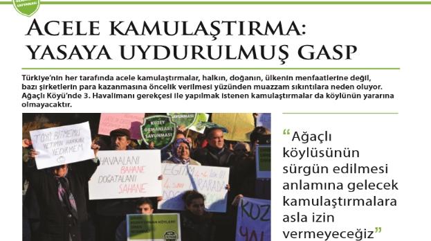 KOS Ağaçlı Bülteni çıktı: Ağaçlı Köyü'nü birlikte savunalım