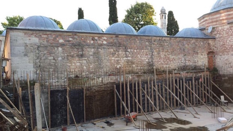 Mimar Sinan modern yurt yapmayı düşünememiş işte!