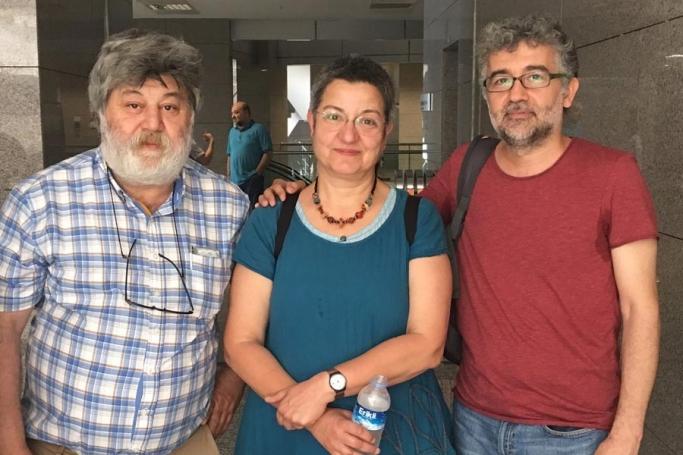 Bağımsız gazeteciliği savunan Fincancı, Önderoğlu ve Nesin tutuklandı