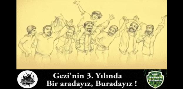 Yaşam savunucuları Gezi'nin 3. yılında da bir arada, burada!