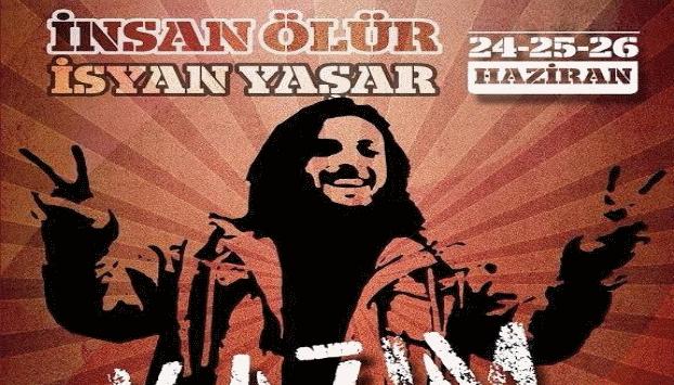 """İnsan Ölür İsyan Yaşar Kazım İsyandır! """"her şeye rağmen"""" 24-25-26 Haziran Abbasağa Parkı'ndayız"""