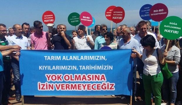 Mudanya halkı RORO liman projesini istemiyor