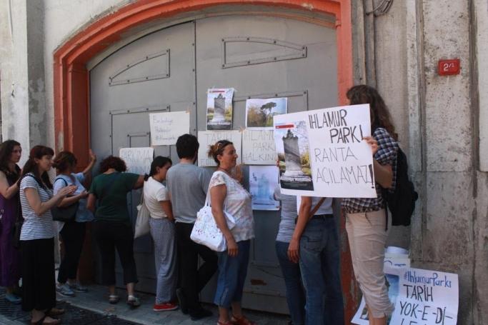 Ihlamur Parkı Dayanışması, meclis toplantısına alınmadı