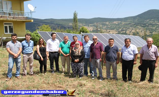 Sinop'taki köyünde bir ilki gerçekleştirdi, güneş enerjisi getirdi