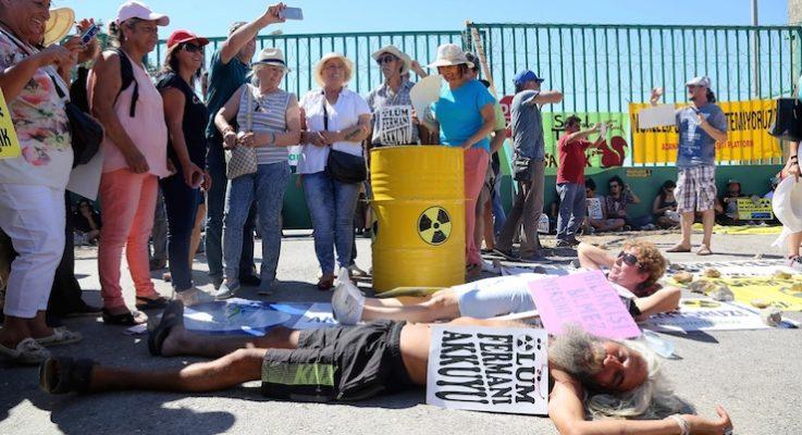 Akkuyu'da bilirkişi incelemesi başladı: Nükleerle ölmek istemiyorum