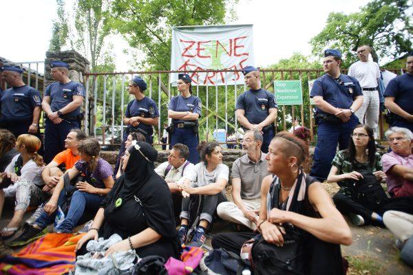 Budapeşte'deki kent parkının geleceği için tırmanan çatışma