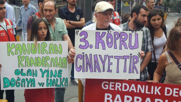 3. köprünün açılmasıyla mücadele bitmez: Hedef tüm Marmara'yı savunmak!