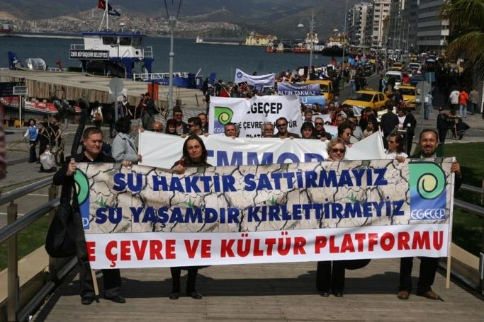 """EGEÇEP ve ÇHD: """"75. Madde devletin doğaya el koymasıdır!"""""""