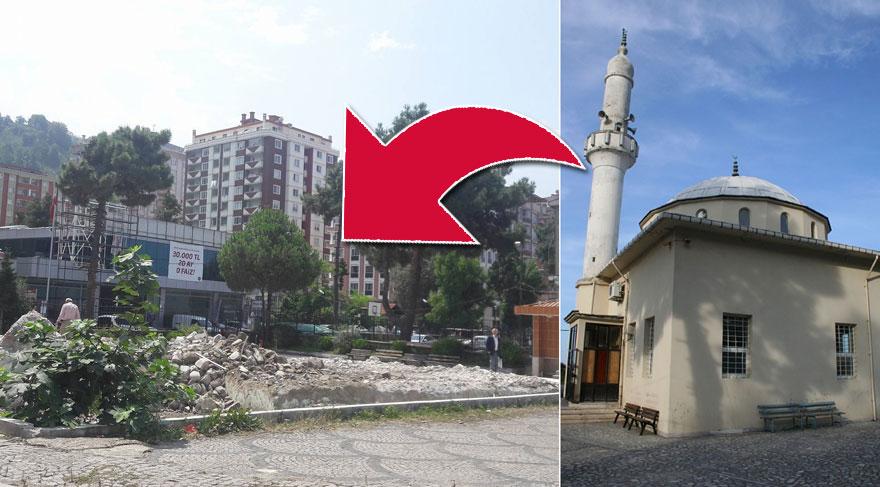 Rize'de 500 Yıllık Osmanlı Camisi Küçük Diye Yıkıldı