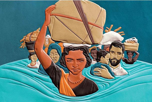 İklim mültecileri: Sebep savaş değil iklim değişikliği