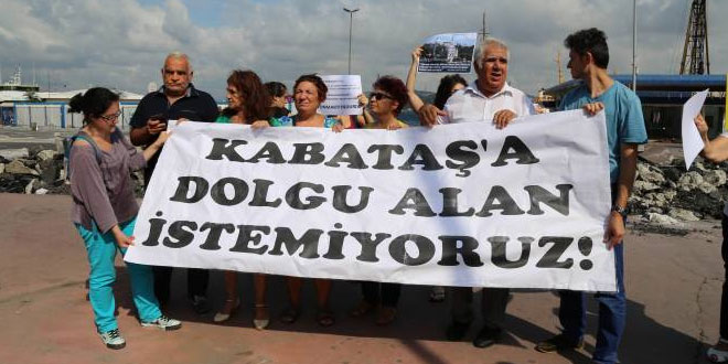 İstanbul Kent Savunması: Kabataş'ı Kadir Topbaş'a yedirmeyeceğiz