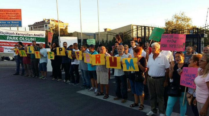 Maltepe'de Karayolları Arazisi özelleştirildi