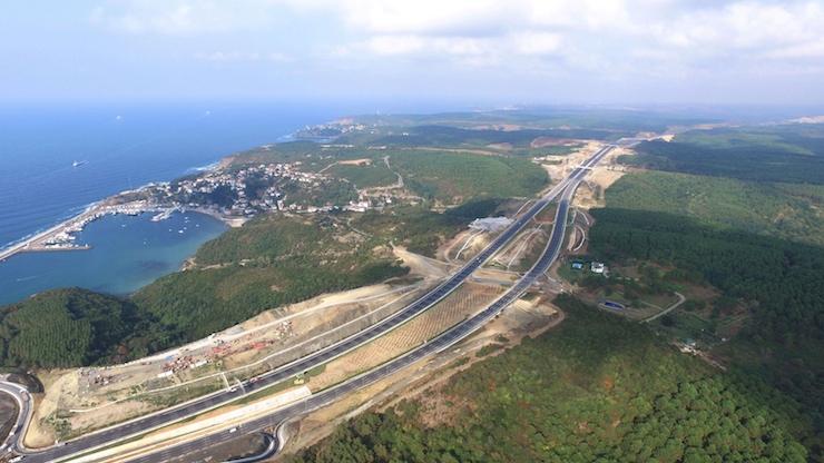 Katil proje 3. köprü açıldı