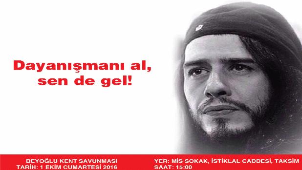 Beyoğlu Kent Savunması, gözaltındakilerle dayanışmaya çağırıyor