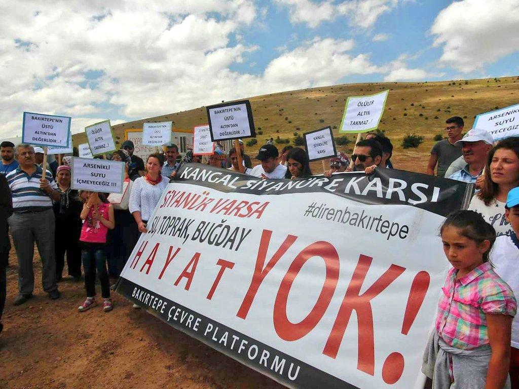 Bakırtepe Altın Madeni mühürlenerek kapatıldı