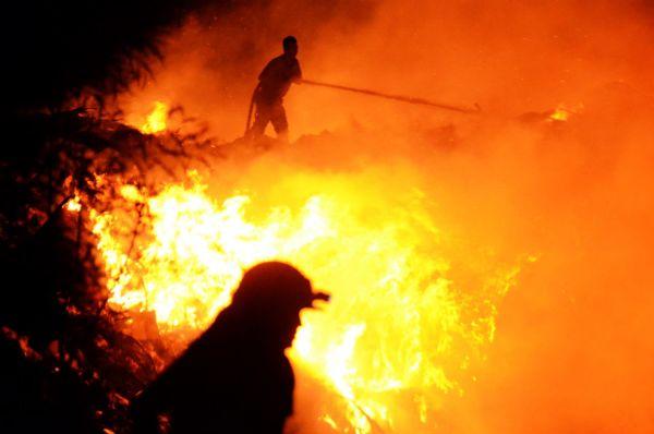 Bodrum'da yerleşim yerlerine yaklaşan yangın 12 saat sonra söndürüldü
