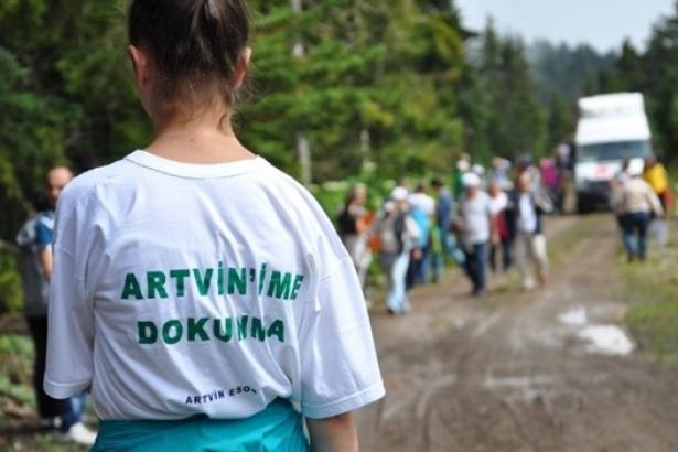 Yaşam ve Dayanışma Yolcuları bu kez Artvin Cerattepe için yollarda!