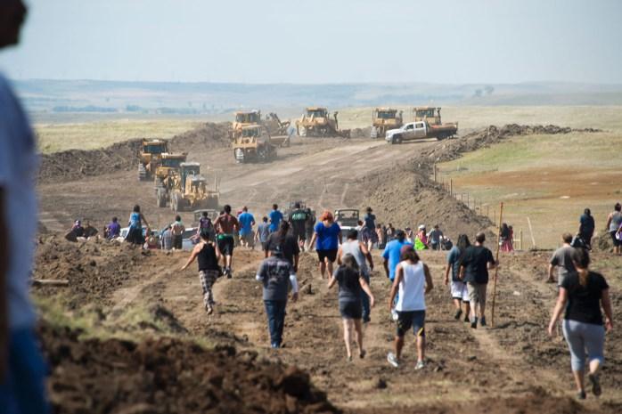 ABD: Dakota Boru Hattına Karşı Direniş Sürüyor  [Foto-Haber]