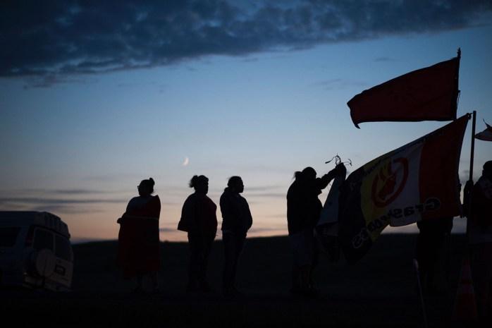 Dakota'da boru hattına karşı mücadelede zafer yaşam savunucularının!