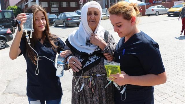 Elbistan'da toplu zehirlenme: Suyumuzu kararttılar