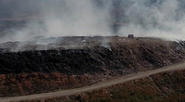 Erzincan'da kent çöplüğü 9 gündür yanıyor