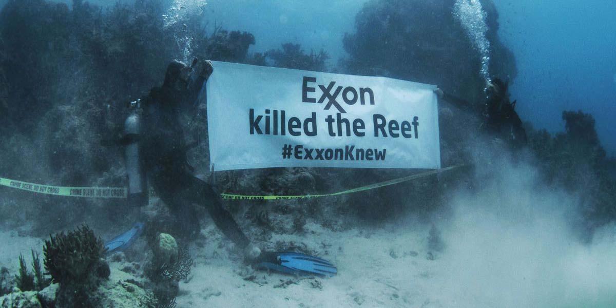 Rengârenk mercan resifi ağardı: Exxon biliyordu, mercanları Exxon öldürdü
