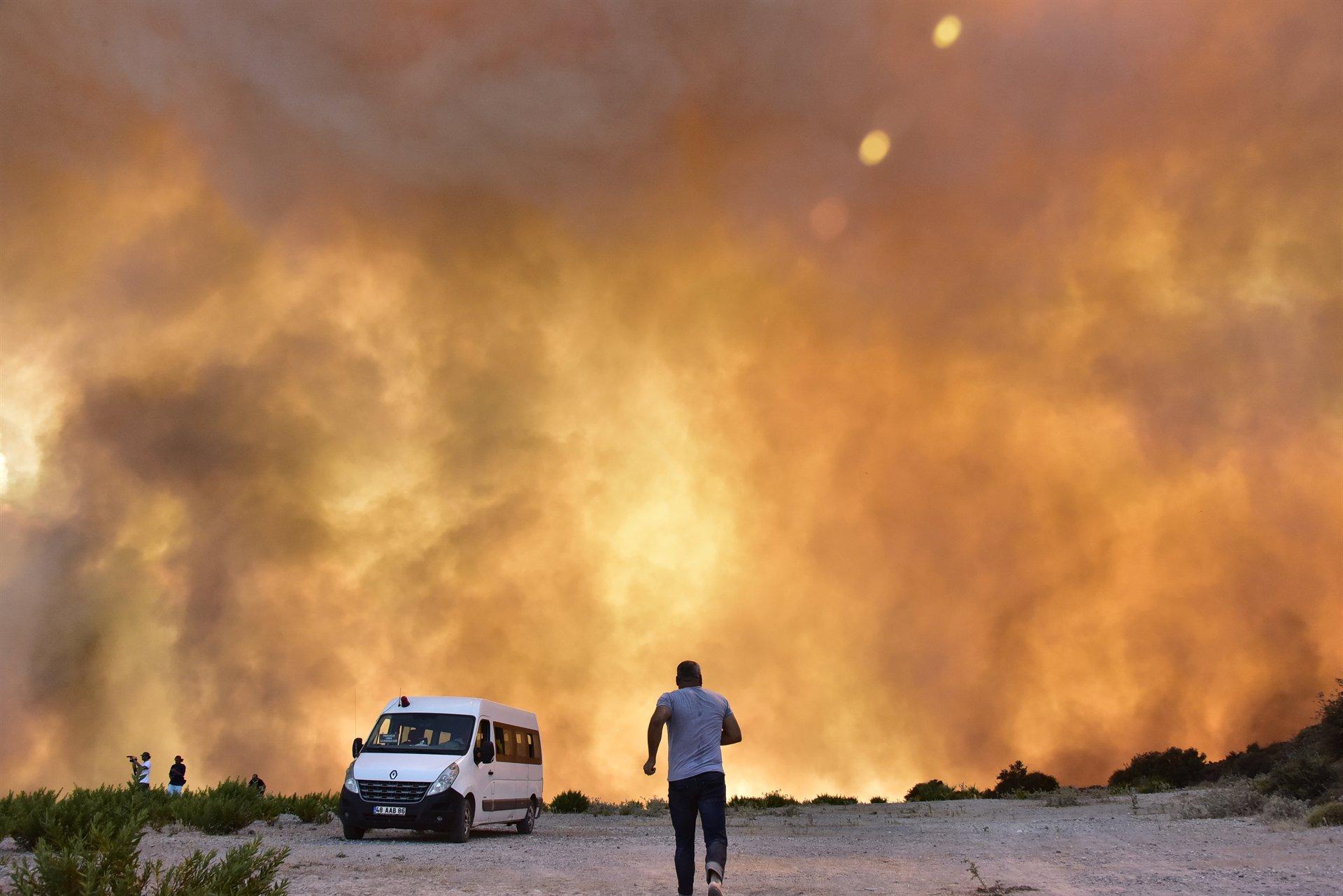 Muğla'da son 8 ayda toplam 418 hektar orman alevlere teslim oldu