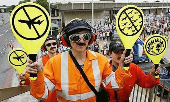 Havacılık sektörü ve havalimanlarına karşı Küresel Eylem Haftası başladı!