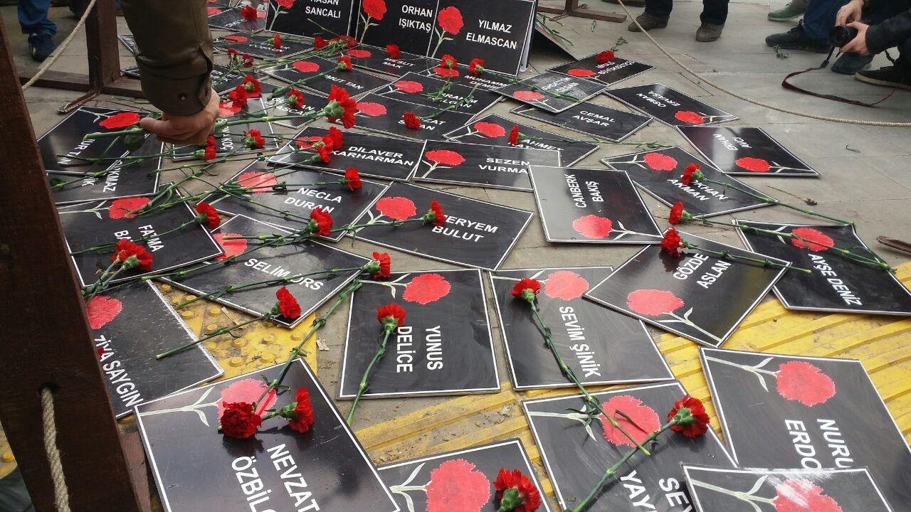 """""""Geri adım atmıyoruz 10 Ekim'de Ankara Garı'ndayız"""""""